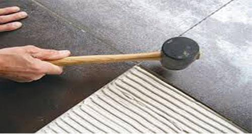 چسب کاشی پودری